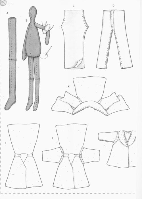 Одежда для куклы тильды своими руками