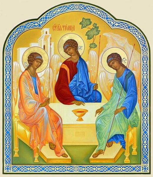 23 мая будем праздновать Троицу.  В моих детских воспоминаниях он остался праздником зелени, пряных травянистых...