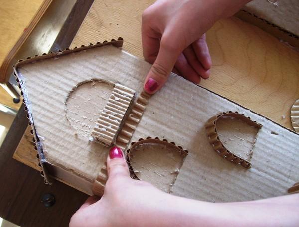 Домик сказочный своими руками из картона