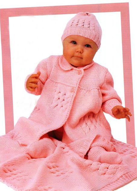 Детские шапочка и шарф, Вязание для детей крючком, изделия и одежда для детей, связанная крючком, схемы и описания.
