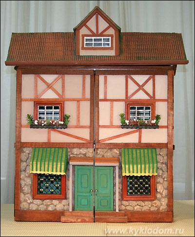 Кукольные домики своими руками мк