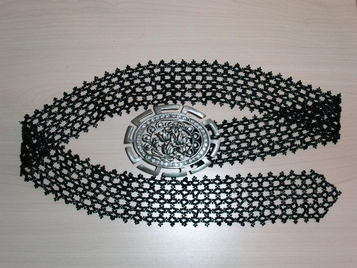 свой цитатник или сообщество!  Пояс из бисера.  Можно носить как на талии или бедрах, так и под грудью.