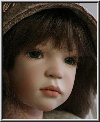 Выкройка тела для фарфоровой куклы