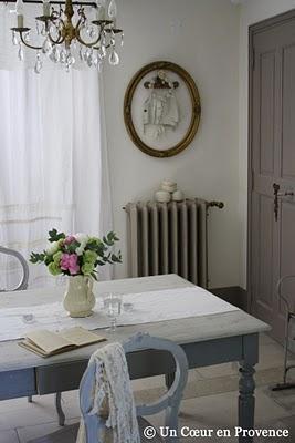 """...Provence """" .  Она делится своей страстью к украшениям, блошинам рынкам."""
