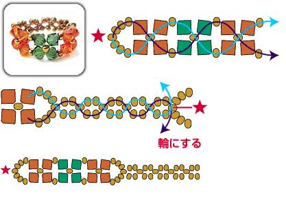 простые цветы из бисера схемы плетения. простые серьги из бисера со.