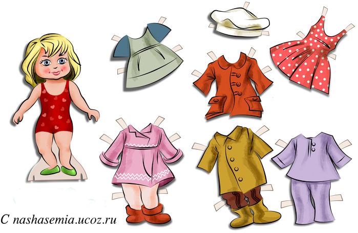 Интересная одежда для кукол