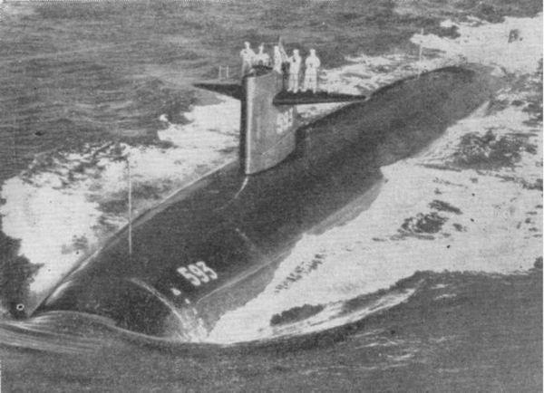 атомная подводная лодка трешер