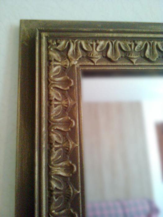 Как обновить раму для зеркала