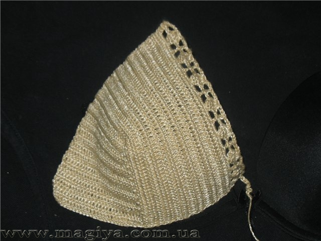 Вязание Лифа