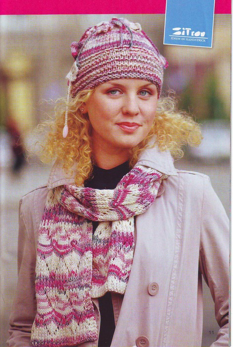 Описание: Ажурное вязание спицами.P Вязание.