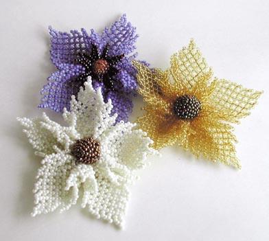 Плетение бисером цветы схемы,