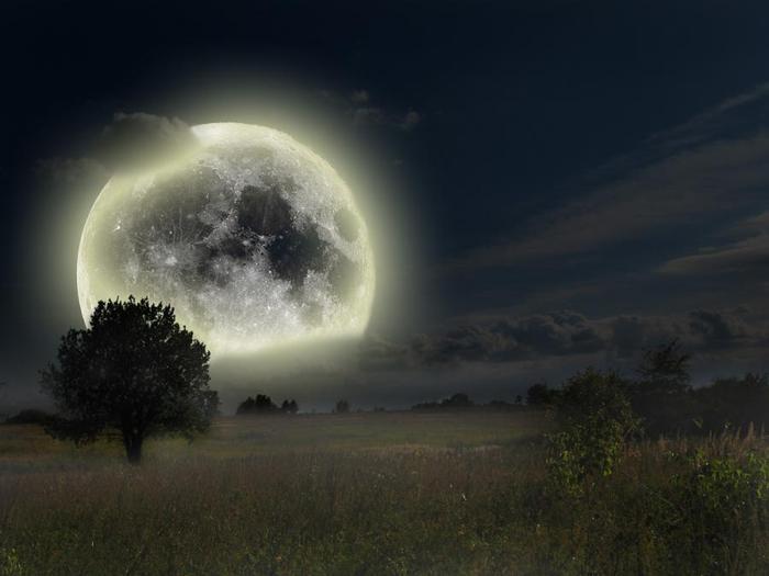 Теория полой луны
