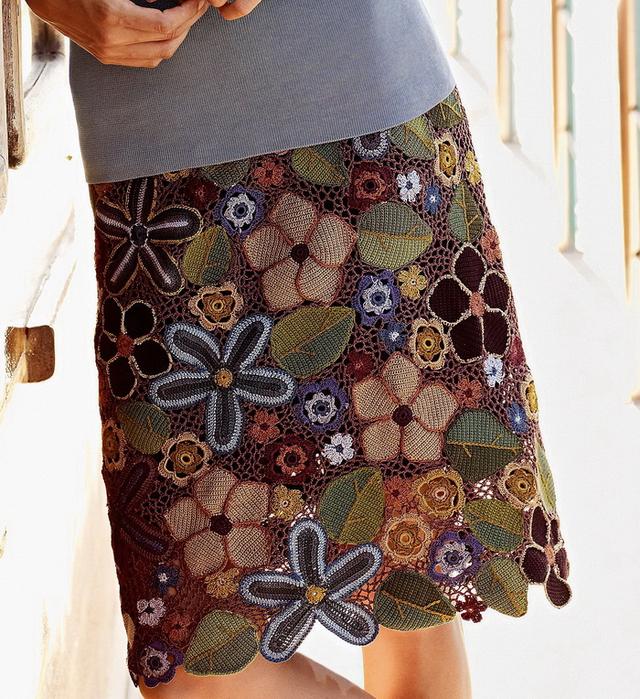 Перуанская юбка.