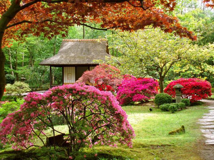 Японские сады за пределами Японии.