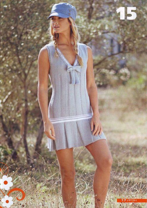 Выкройка платья с удлиненной талией 10