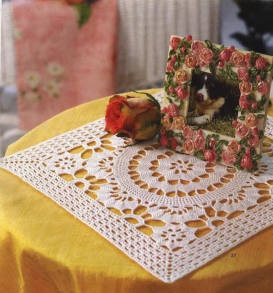 Рубрика.  Тэги. салфетка. крючком. для дома.  Вязание для домашнего уюта.