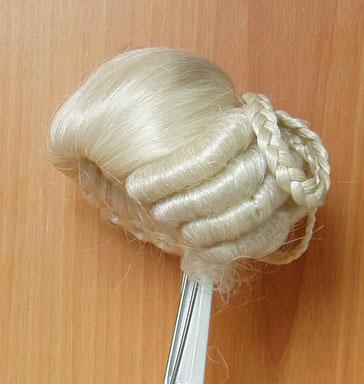 Как сделать белый парик из ваты