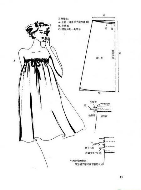 Сшить платье или сарафан без выкройки 268