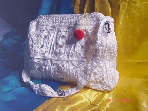 вязаные сумки спицами с описанием. вязание сумок спицами с описанием.