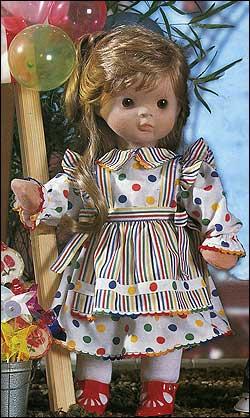 Выкройка одежды для кукол 60 см