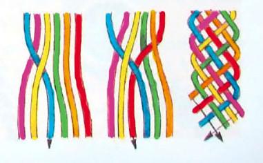 Схемы для фенечек прямым плетением для начинающих