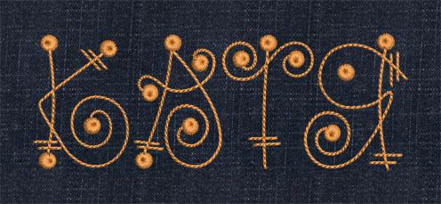 Машинная вышивка дизайны алфавит