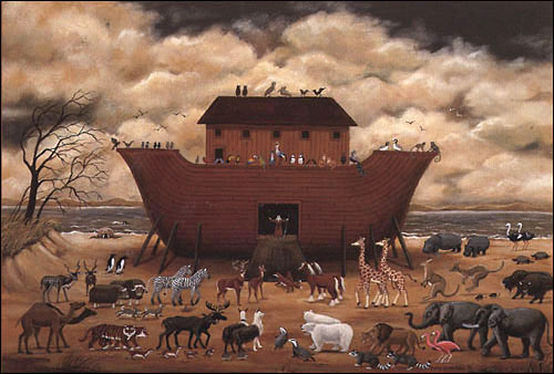 Ноев ковчег - легенда, действительность или символ спасения человечества?