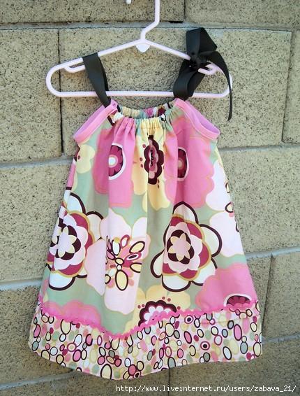 Как сшить платье детям