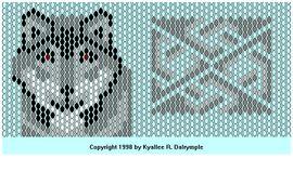 Посмотри вот здесь,схема волка, кирпичный стежок. http://biser.info/node/51604. такая вот схема. http.