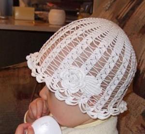 Детские панамки.  Схемы вязания.
