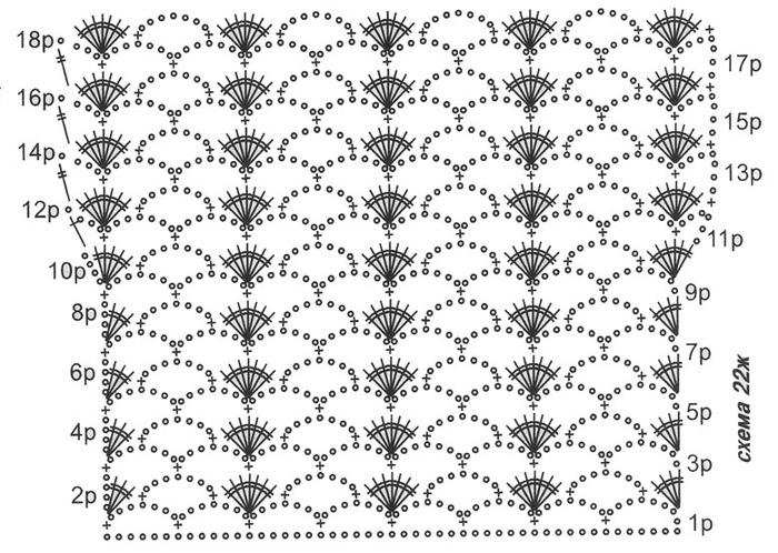 Вязание из ириса спицами схемы 78