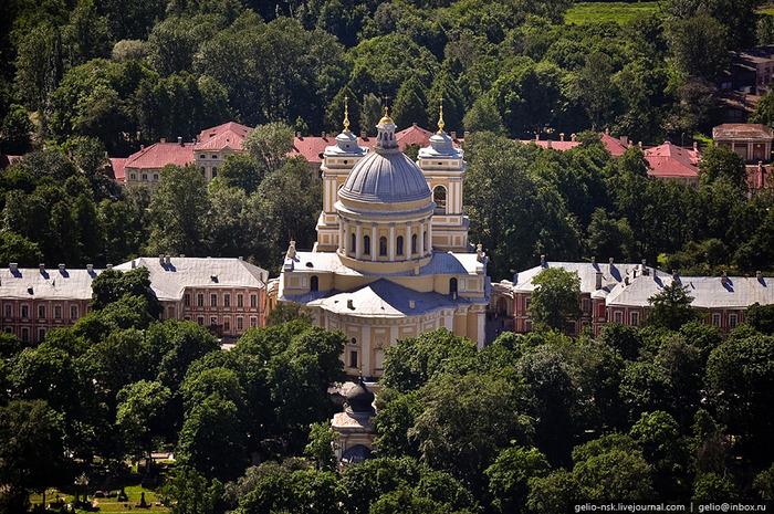 Невская лавра троицкий собор 1790