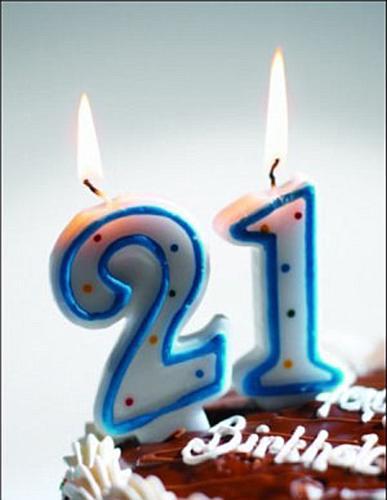 Поздравление подруге с днем рождения 21 год