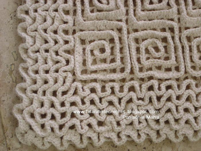 编织人生手工编织地毯图