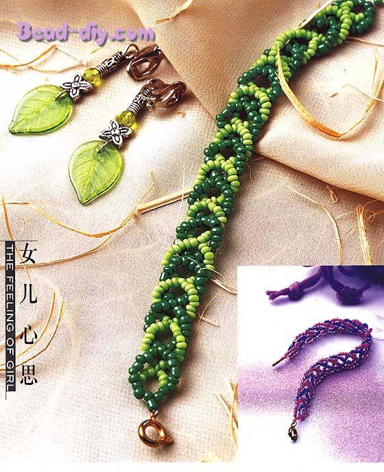 Плетение бисером для начинающих схемы. вязание ленточной пряжи на граблях МК видео в ютубе.