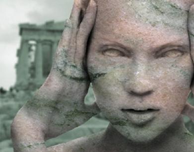 13 создание эффекта каменной статуи