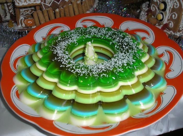 Желейный торт рецепт с фото.