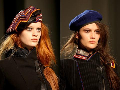 Меховая шапка может быть выполнена в любой форме - в форме классической меховой шапки, берета, шапки-ушанки...