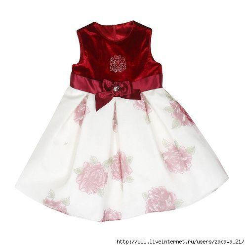 Схема выкройки детского платья фото 651