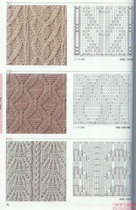 вязание ободка
