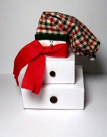 Новогодняя упаковка для шоколадКак сделать гвоздика из