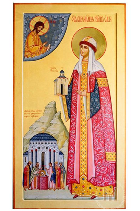 Поздравляю всех именинников с днем Ангела.  Житие этой святой все, думаю, читали на уроках истории России, поэтому я.