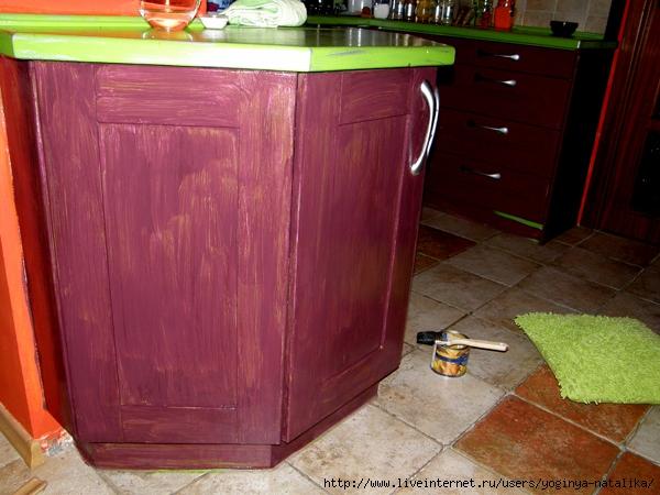 Чем покрасить кухонный гарнитур