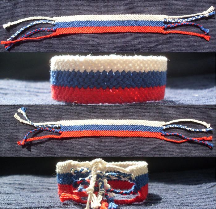 Плетение фенечки: схема