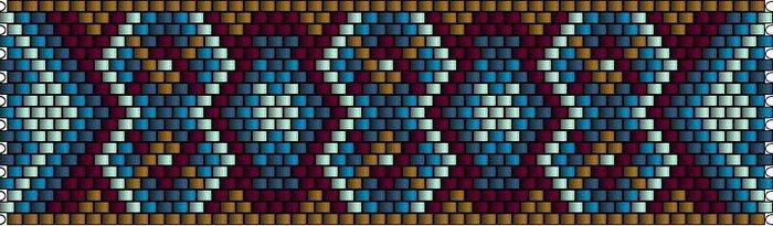 """браслетики мозаика """" Мир"""