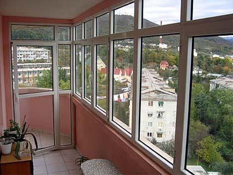 Курск, народные двери, остекление балконов