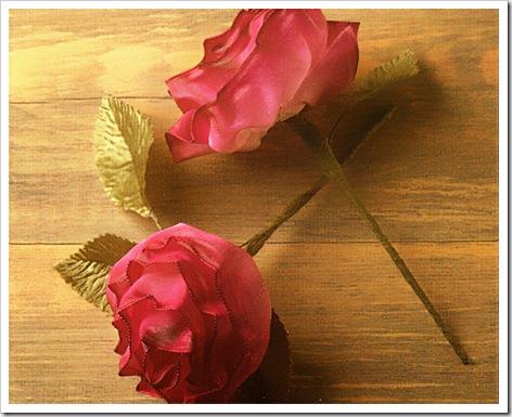 Как сделать розы из лент своими руками. Немного опыта в вывязывании