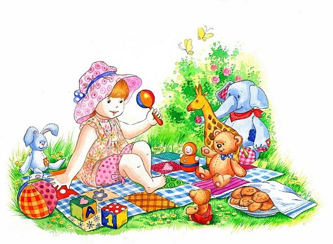 Скачать детские сказочные иллюстрации от Скрипниченко Киры.