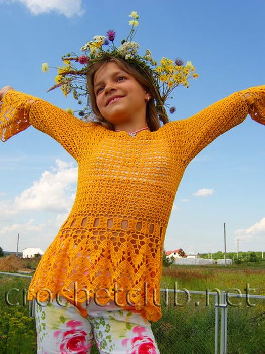 Вязанные Летние Кофты. Вязание