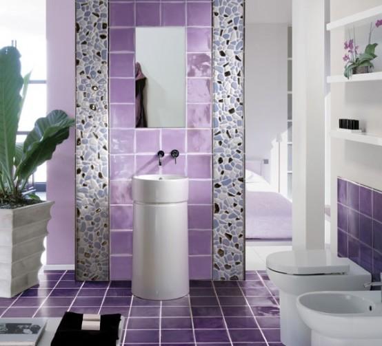 фиолетовый цвет в интерьере не рекомендуется использовать как основной.